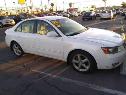 2008 Hyundai Sonata for sale at Car Spot in Las Vegas NV