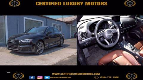 2018 Audi A3 for sale at Certified Luxury Motors in Great Neck NY