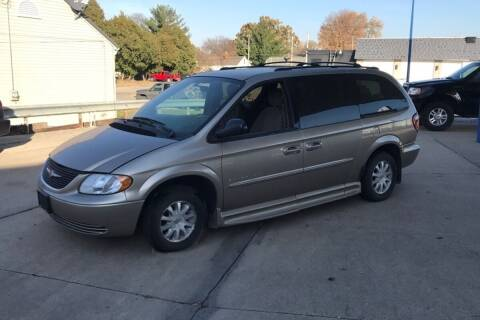 2003 Chrysler Town and Country for sale at Capital Fleet  & Remarketing  Auto Finance in Columbia Heights MN