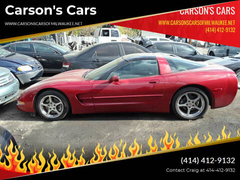 1997 Chevrolet Corvette for sale at Carson's Cars in Milwaukee WI