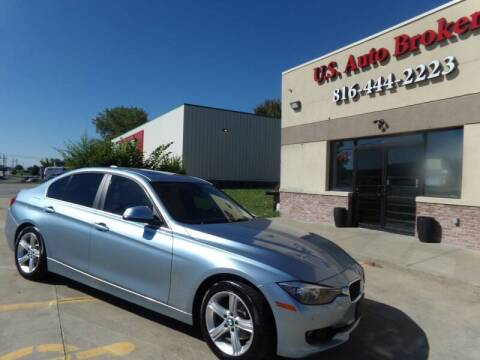 2015 BMW 3 Series for sale at US Auto Brokers LLC in Kansas City MO