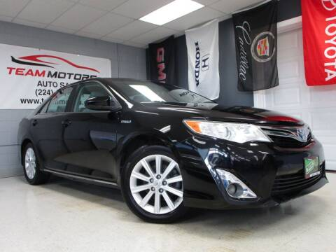 2012 Toyota Camry Hybrid for sale at TEAM MOTORS LLC in East Dundee IL