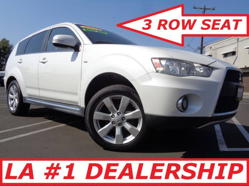2011 Mitsubishi Outlander for sale at ALL STAR TRUCKS INC in Los Angeles CA