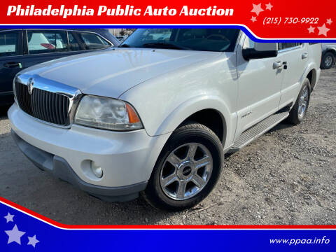 2004 Lincoln Aviator for sale at Philadelphia Public Auto Auction in Philadelphia PA