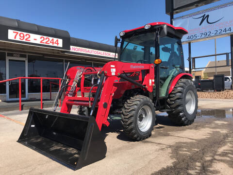 2021 Mahindra 26384wdCabHST with Loader for sale at NORRIS AUTO SALES in Oklahoma City OK