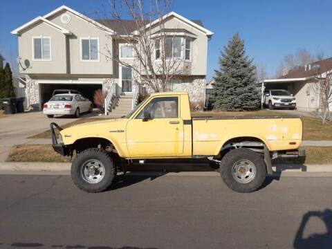 1983 Toyota Pickup for sale at Classic Car Deals in Cadillac MI