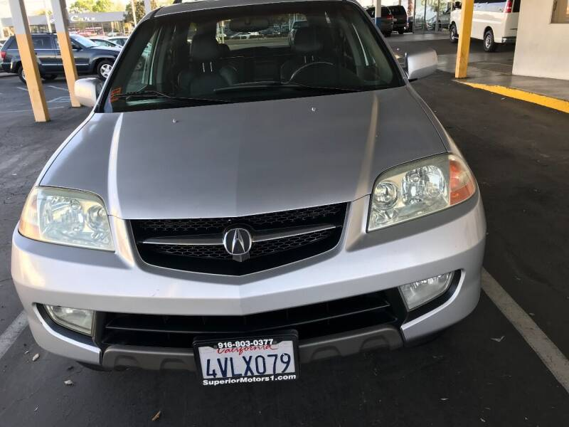 2002 Acura MDX for sale at Auto Outlet Sac LLC in Sacramento CA