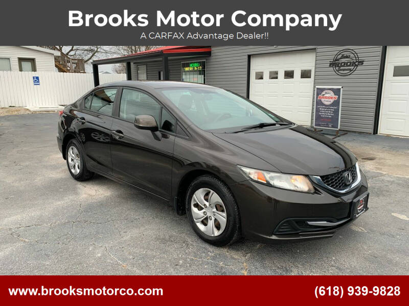 2013 Honda Civic for sale at Brooks Motor Company in Columbia IL