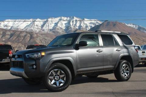 2018 Toyota 4Runner for sale at REVOLUTIONARY AUTO in Lindon UT