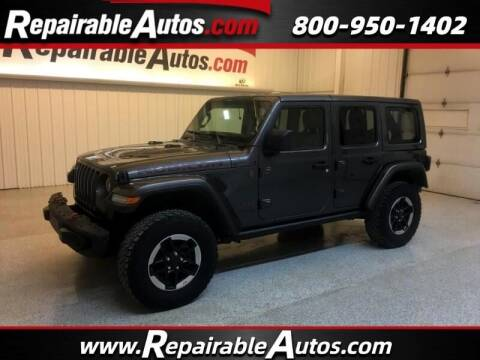 2018 Jeep Wrangler Unlimited for sale at Ken's Auto in Strasburg ND