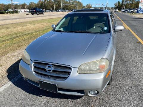 2003 Nissan Maxima for sale at Double K Auto Sales in Baton Rouge LA