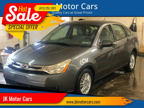 2011 Ford Focus for sale at JK Motor Cars in Pittsburgh PA