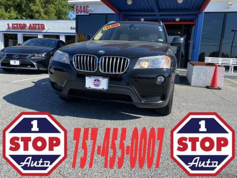 2011 BMW X3 for sale at 1 Stop Auto in Norfolk VA