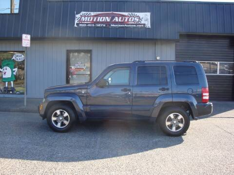 2008 Jeep Liberty for sale at Motion Autos in Longview WA