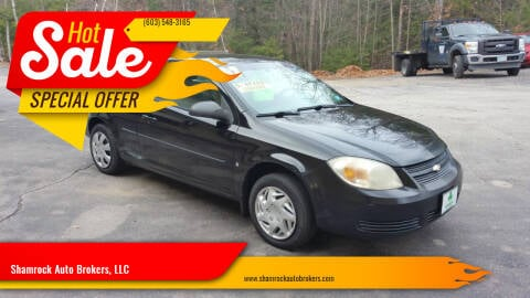 2007 Chevrolet Cobalt for sale at Shamrock Auto Brokers, LLC in Belmont NH