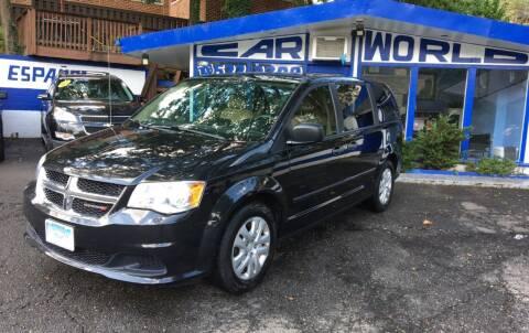 2014 Dodge Grand Caravan for sale at Car World Inc in Arlington VA