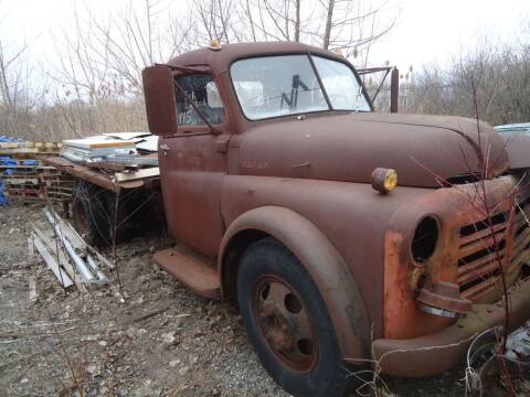 1952 Dodge 2 ton ddumps for sale at Marshall Motors Classics in Jackson Michigan MI