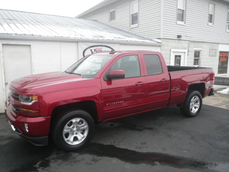 2018 Chevrolet Silverado 1500 for sale at VICTORY AUTO in Lewistown PA