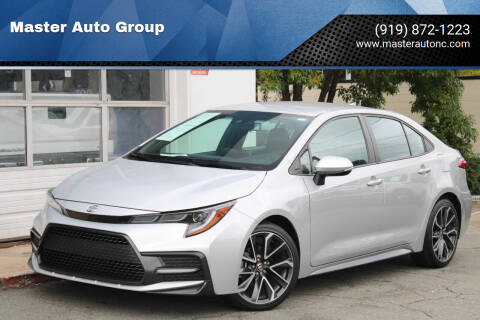 2020 Toyota Corolla for sale at Master Auto Group in Raleigh NC
