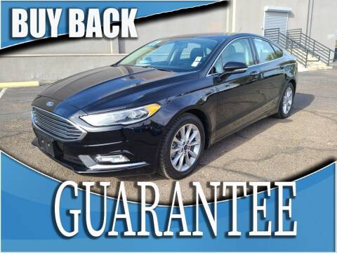 2017 Ford Fusion for sale at Reliable Auto Sales in Las Vegas NV