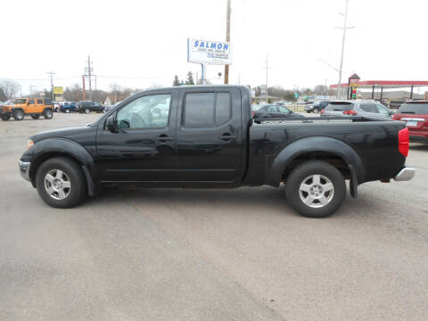 2007 Nissan Frontier for sale at Salmon Automotive Inc. in Tracy MN
