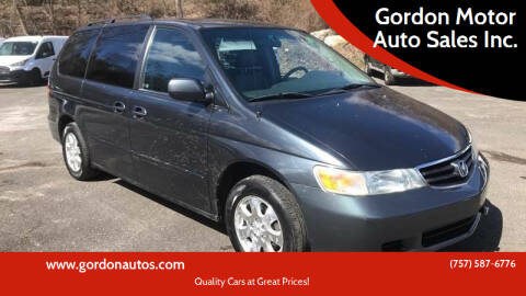 2004 Honda Odyssey for sale at Gordon Motor Auto Sales Inc. in Norfolk VA