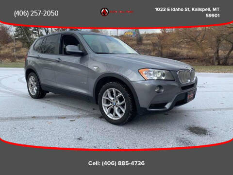 2011 BMW X3 for sale at Auto Solutions in Kalispell MT
