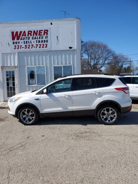 2015 Ford Escape for sale at Patches Enterprises, Ltd. in Reed City MI