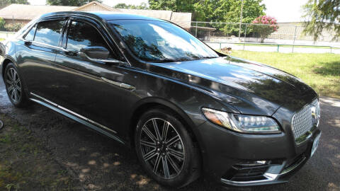 2017 Lincoln Continental for sale at Haigler Motors Inc in Tyler TX
