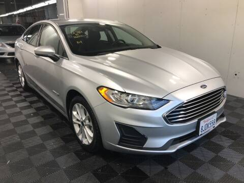 2019 Ford Fusion Hybrid for sale at Brand Motors llc in Belmont CA