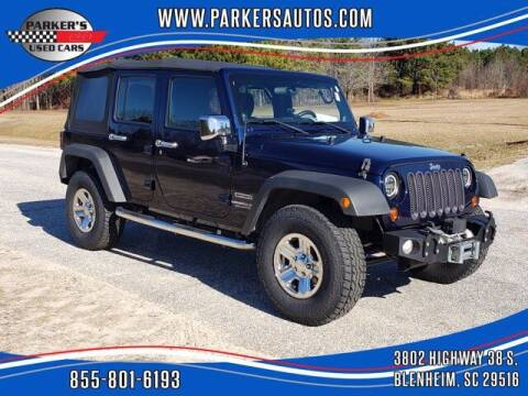 2013 Jeep Wrangler Unlimited for sale at Parker's Used Cars in Blenheim SC