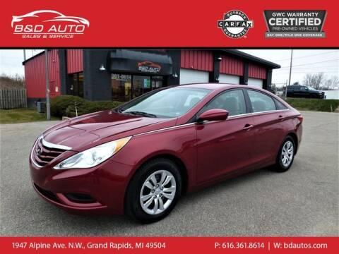 2013 Hyundai Sonata for sale at B&D Auto Sales Inc in Grand Rapids MI