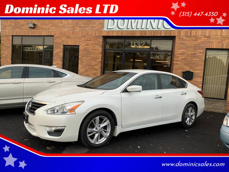 2013 Nissan Altima for sale at Dominic Sales LTD in Syracuse NY