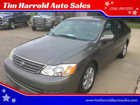 2003 Toyota Avalon for sale at Tim Harrold Auto Sales in Wilkesboro NC