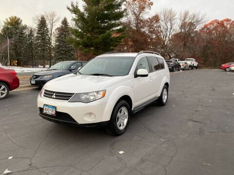 2009 Mitsubishi Outlander for sale at Northstar Auto Sales LLC in Ham Lake MN