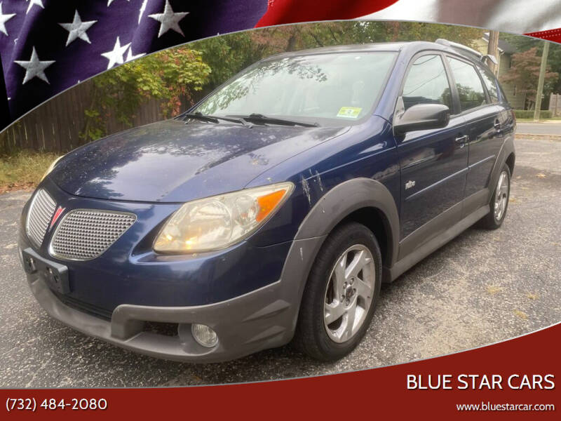 2005 Pontiac Vibe for sale at Blue Star Cars in Jamesburg NJ