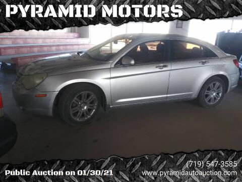 2008 Chrysler Sebring for sale at PYRAMID MOTORS - Pueblo Lot in Pueblo CO