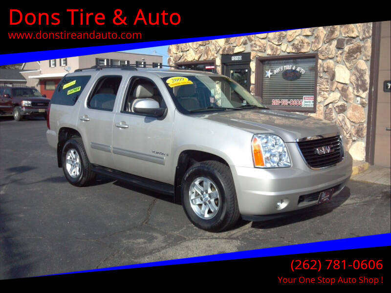 2009 GMC Yukon for sale at Dons Tire & Auto in Butler WI