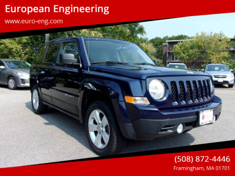 2012 Jeep Patriot for sale at European Engineering in Framingham MA