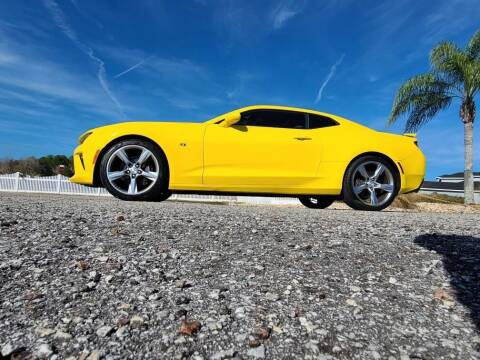2017 Chevrolet Camaro for sale at Specialty Motors LLC in Land O Lakes FL
