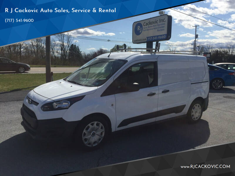 2016 Ford Transit Connect Cargo for sale at R J Cackovic Auto Sales, Service & Rental in Harrisburg PA