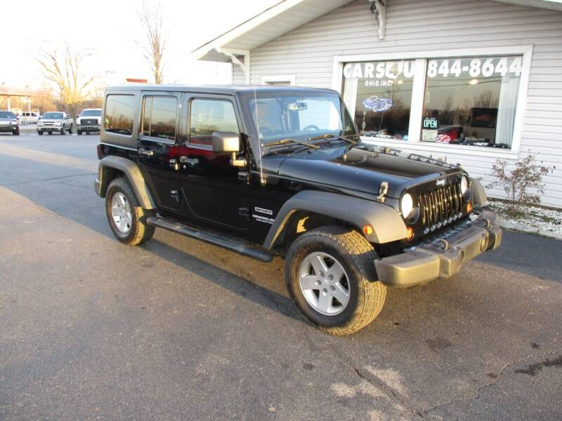 2013 Jeep Wrangler Unlimited for sale at Cars 4 U in Liberty Township OH