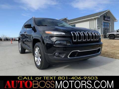 2014 Jeep Cherokee for sale at Auto Boss in Woodscross UT
