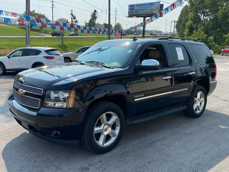 2013 Chevrolet Tahoe for sale at Bic Motors in Jackson MO