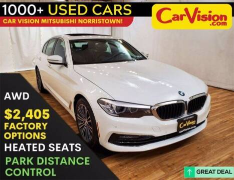 2018 BMW 5 Series for sale at Car Vision Buying Center in Norristown PA