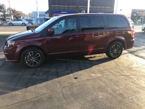 2017 Dodge Grand Caravan for sale at N & J Auto Sales in Warsaw IN