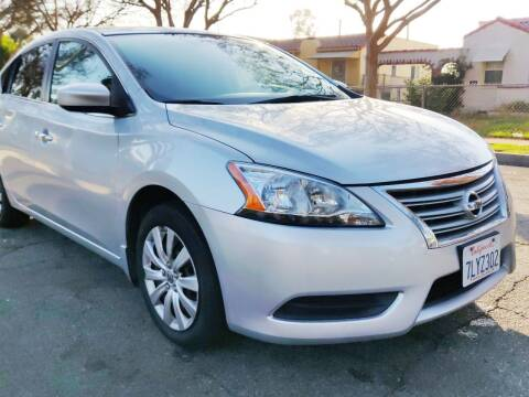 2015 Nissan Sentra for sale at Apollo Auto El Monte in El Monte CA