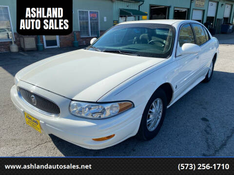 2002 Buick LeSabre for sale at ASHLAND AUTO SALES in Columbia MO