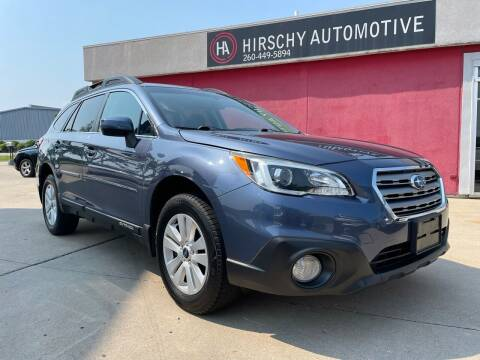 2016 Subaru Outback for sale at Hirschy Automotive in Fort Wayne IN