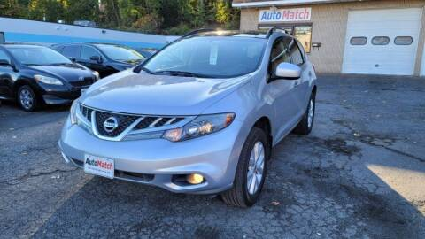 2012 Nissan Murano for sale at Auto Match in Waterbury CT